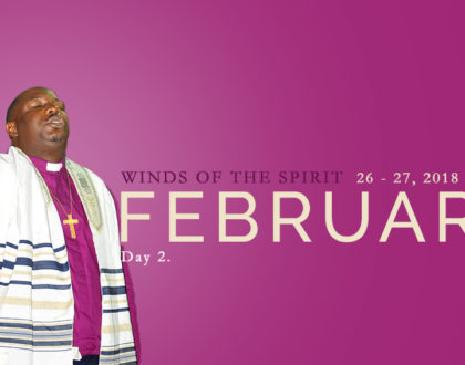 February 2018 Winds of the Spirit. Day 2.