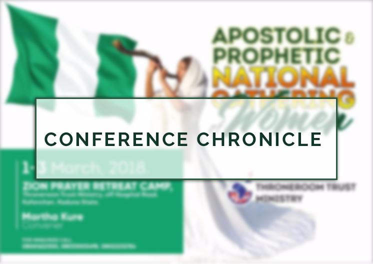 Conference Chronicle: Apostolic Prophetic National Gathering of Women